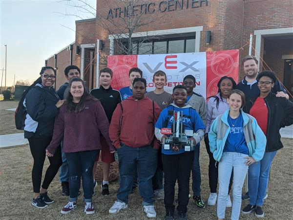 AMMS Students Compete in River Region Tower Takeover State Qualifier Competition
