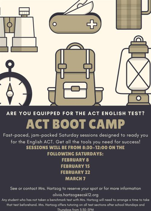 ACT English Bootcamp