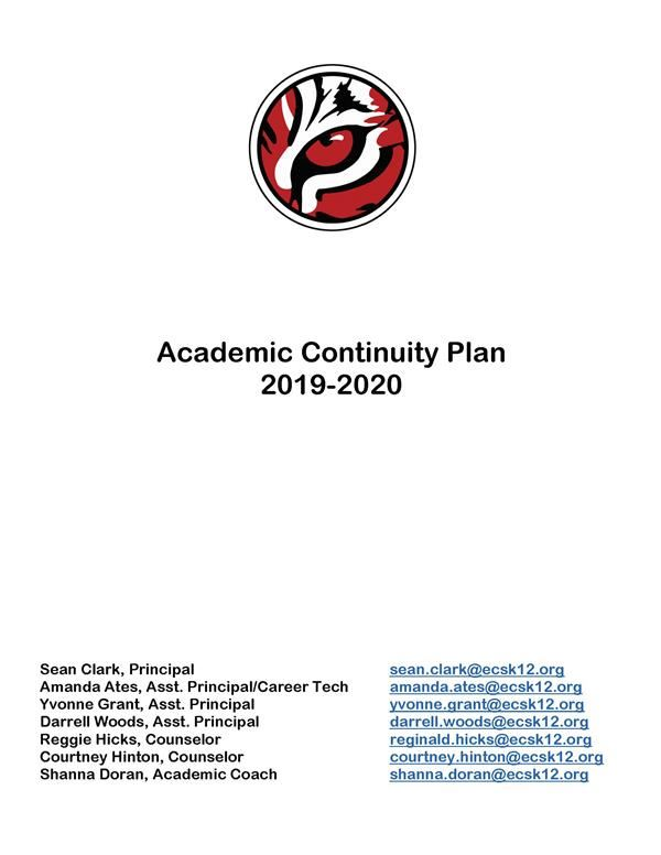 Academic Continuity Plans After School Building Closure Due to Covid-19
