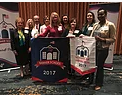 Eufaula  staff with CLAS banner